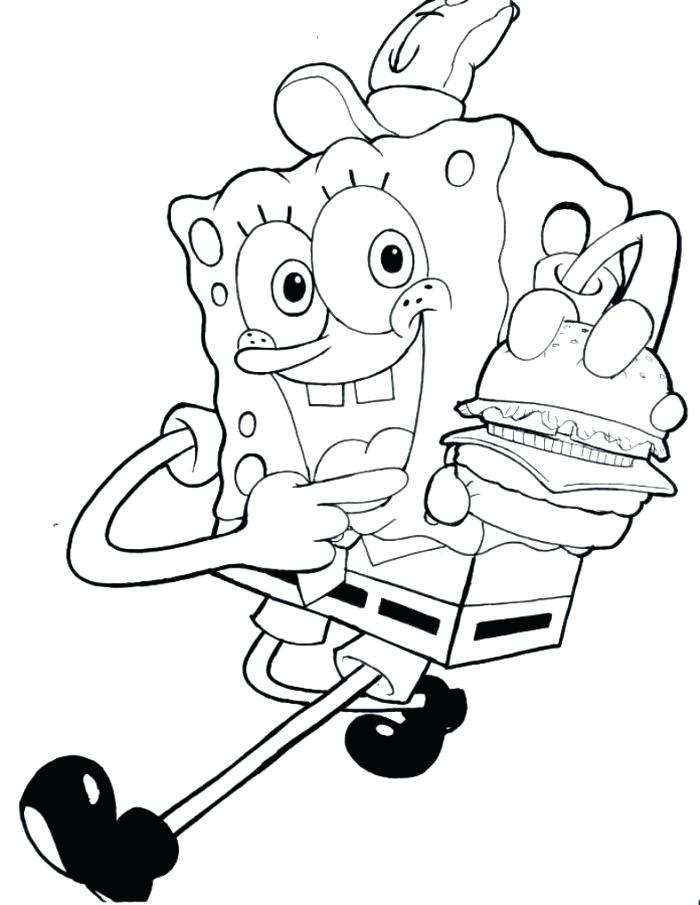 700x905 Spongebob Coloring Pages Games Free Coloring Pages For Kids