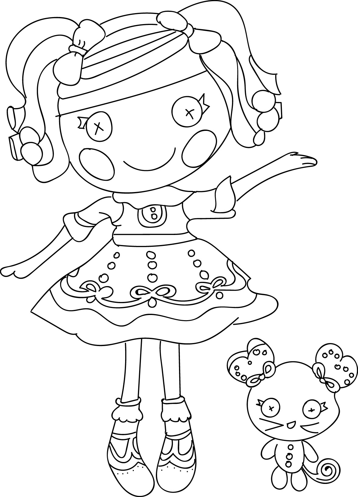 1176x1633 Printable Lalaloopsy Coloring Pages Free For Kids Alive