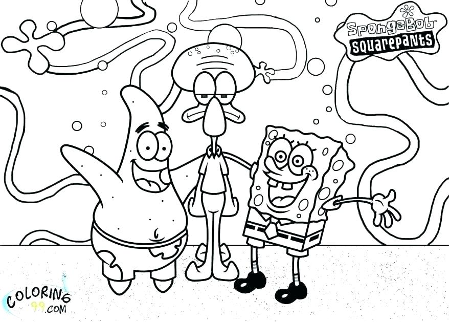 Spongebob Coloring Pages Pdf at GetDrawings | Free download