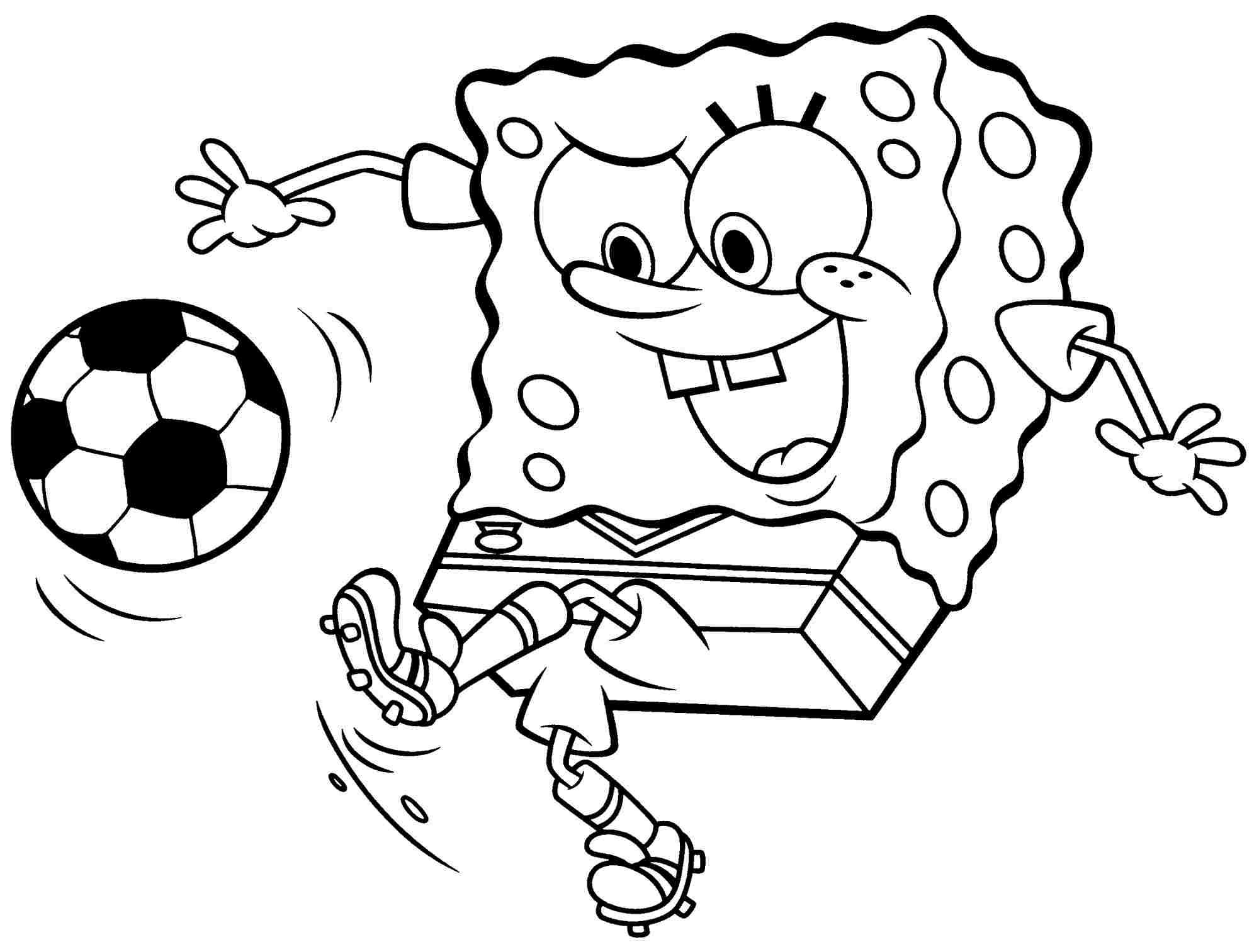 2000x1513 Focus Spongebob Color Sheets Mainstream Colori