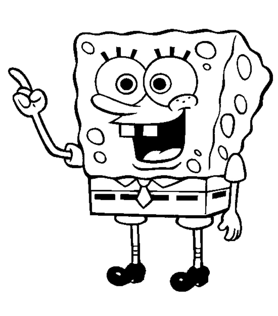 900x1021 Spongebob Coloring Pages Free Printable Orango Coloring Pages