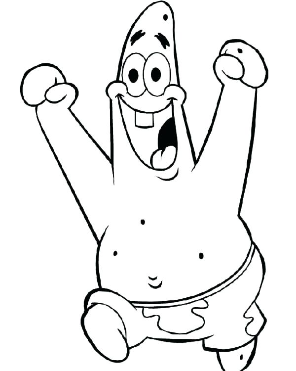 600x750 Patrick Coloring Pages Star Coloring Page And Having Fun Coloring