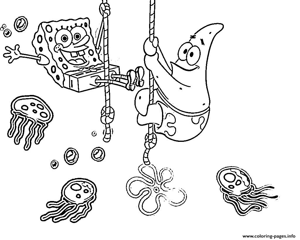 1024x819 Coloring Pages For Kids Spongebob Patrick
