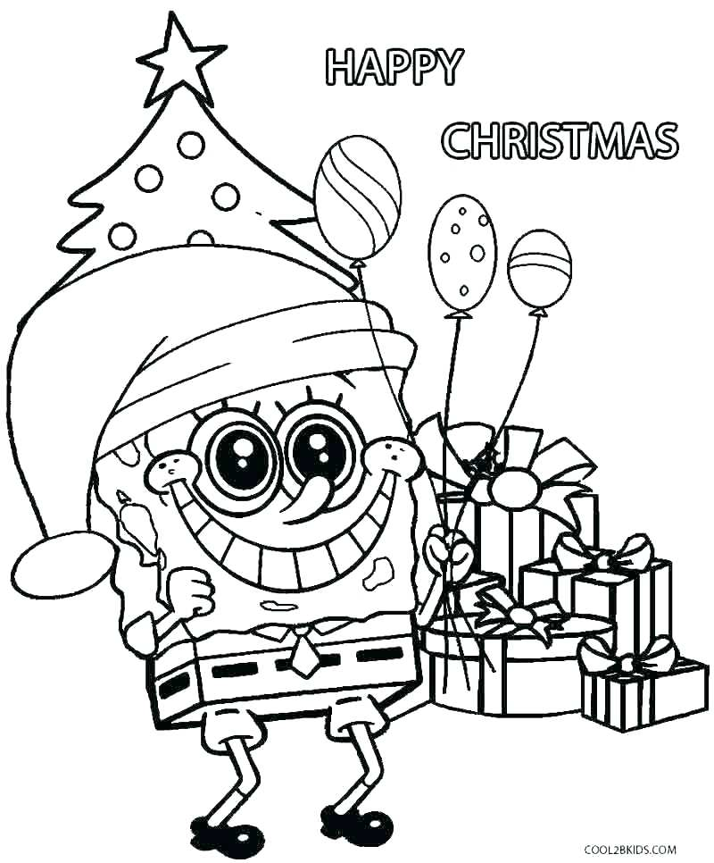 Spongebob Squarepants Coloring Pages Free At Getdrawings Com Free