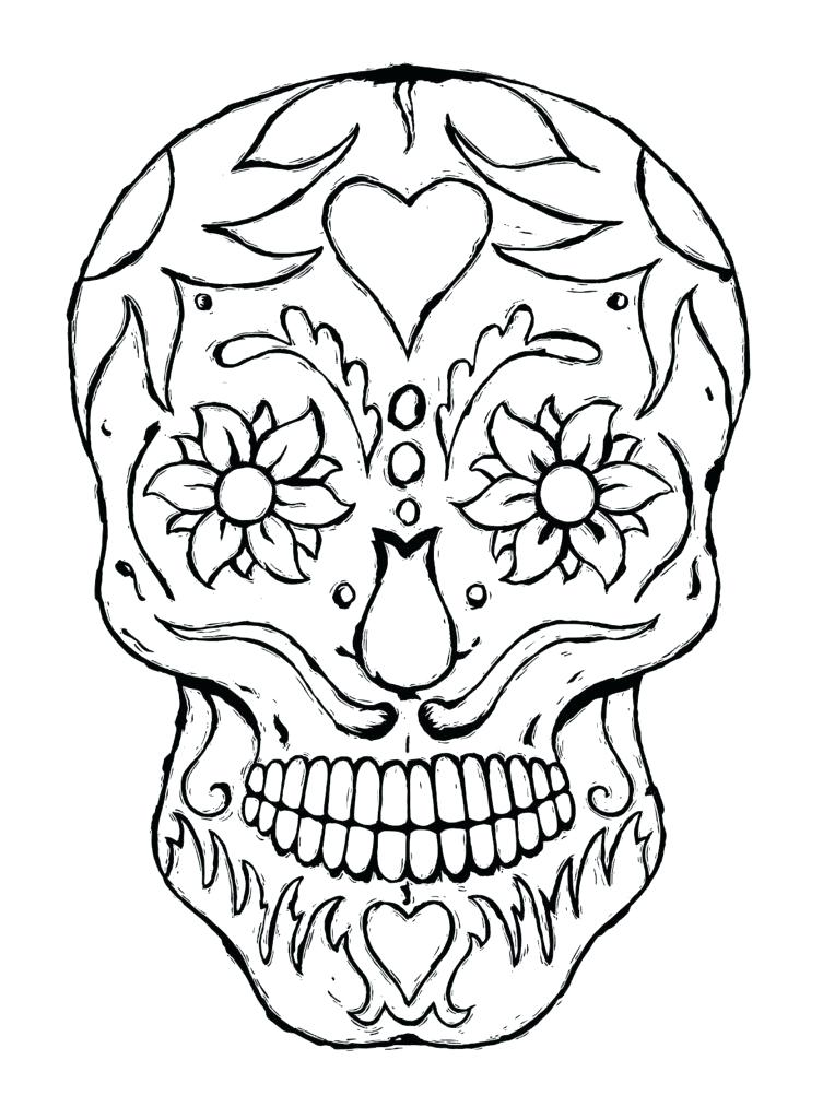 Spooky Halloween Coloring Pages Printable At Getdrawings Com Free
