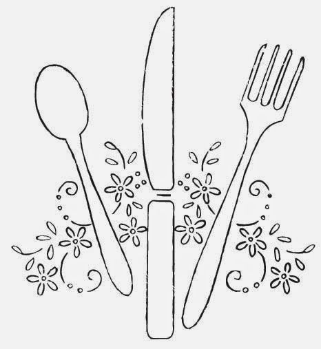 466x507 Spoon, Knife, Fork Perfect For Your Tea Party Spoon Knife, Tea