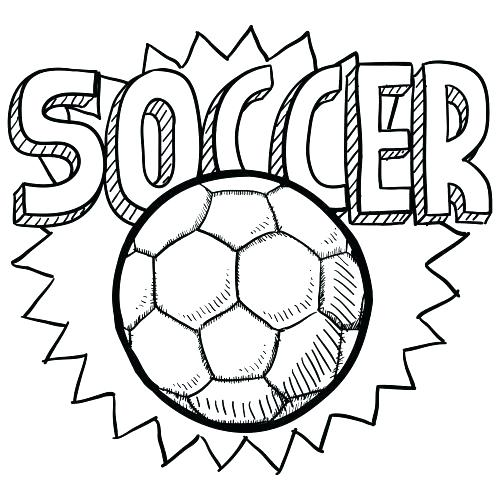 500x500 Sports Balls Coloring Pages Soccer Balls Coloring Pages Fresh