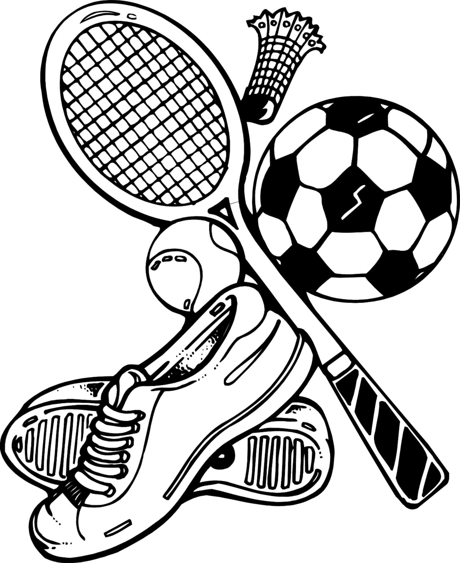 1504x1839 Sports Coloring Pages