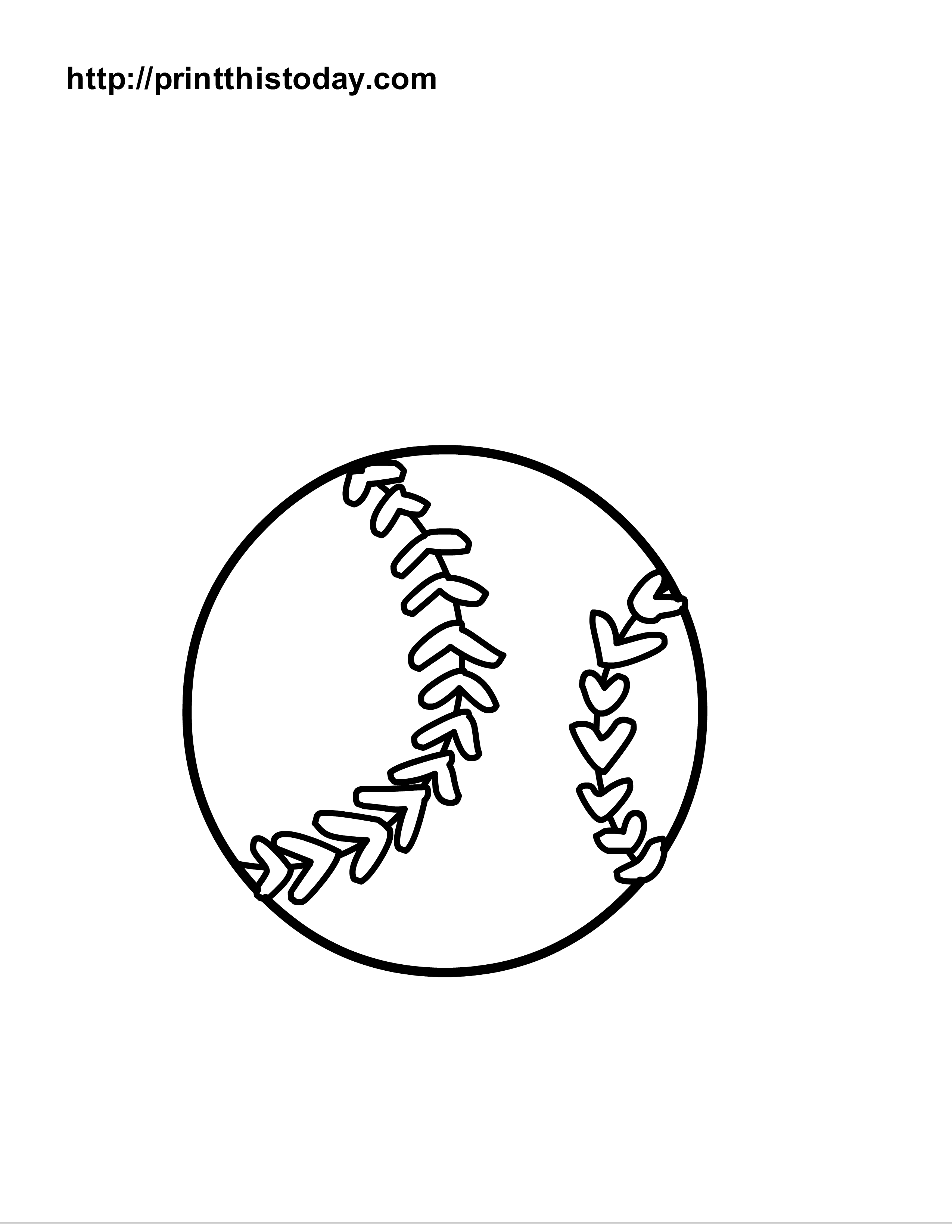 2550x3300 Free Printable Sports Balls Coloring Pages