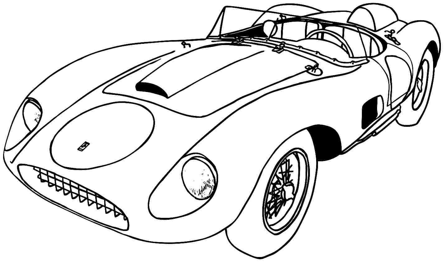 1427x843 Splendid Design Ideas Sports Car Coloring Pages Printable
