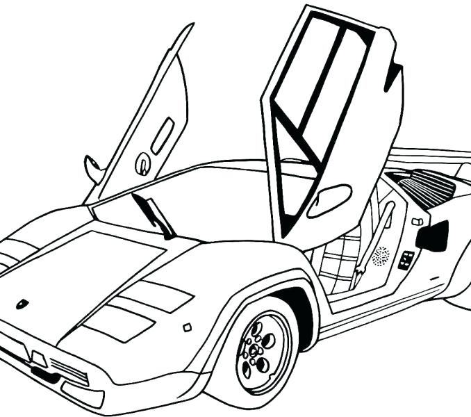 678x600 Awesome Car Coloring Pages Car Coloring Page Cars Coloring Pages