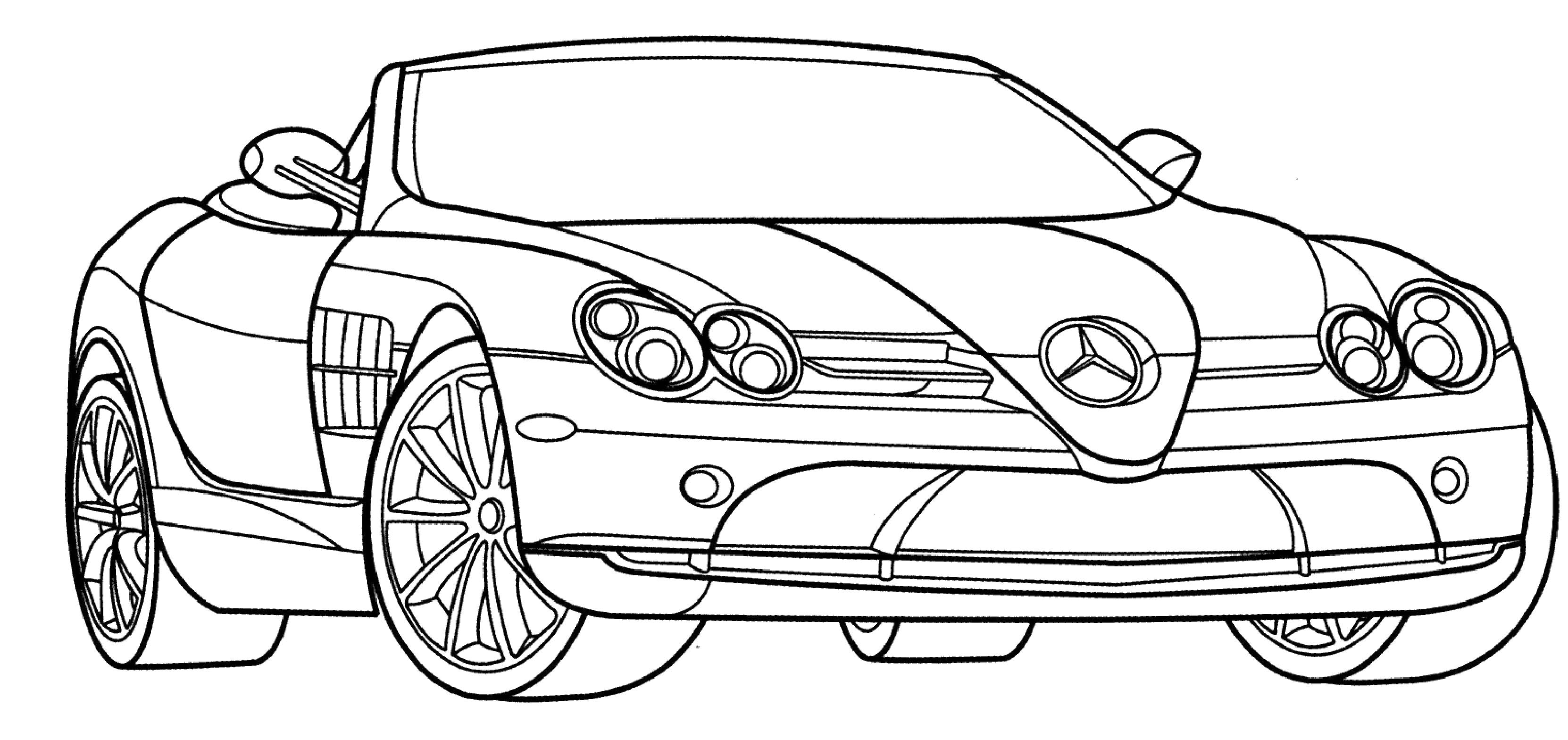 3324x1568 Sport Cars Coloring Pages