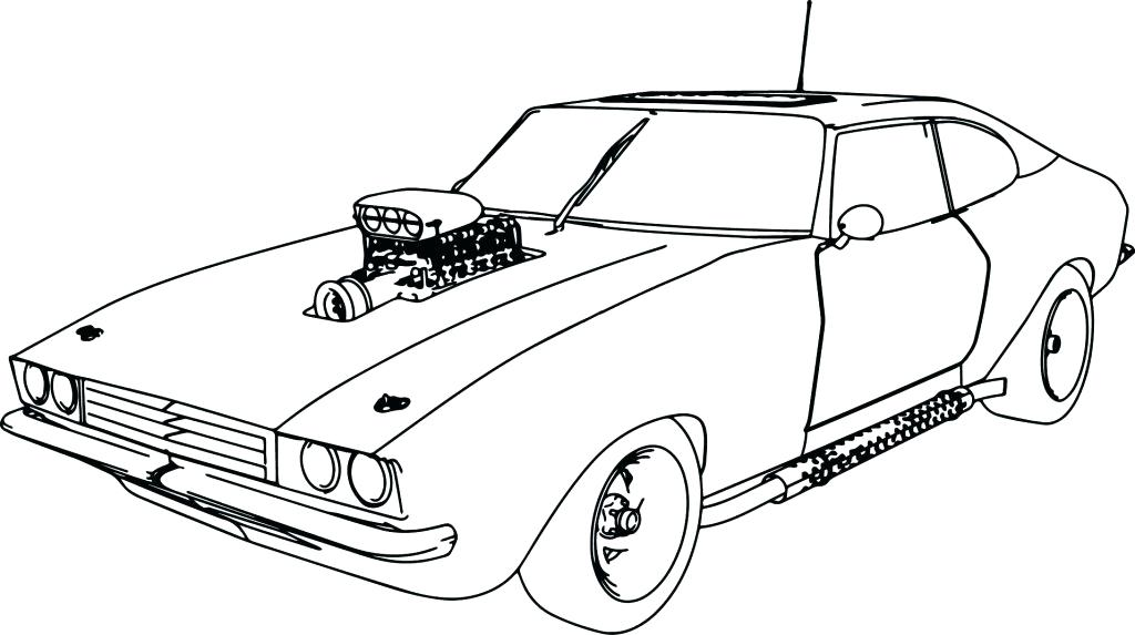 1024x573 Sport Cars Coloring Pages