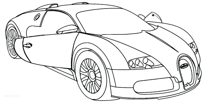 850x425 Sports Car Coloring Pages Icontent