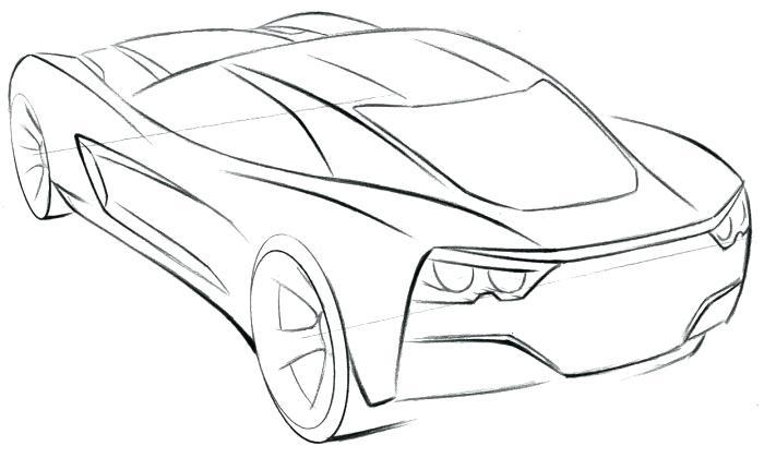 700x420 Corvette Logo Coloring Pages Corvette Sport Car Coloring Page