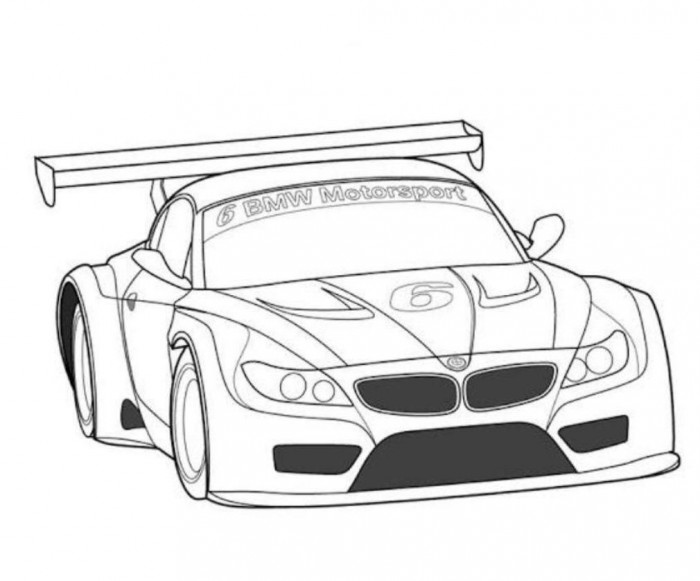 700x581 Fast Cars Coloring Pages Car Colouring Sheets
