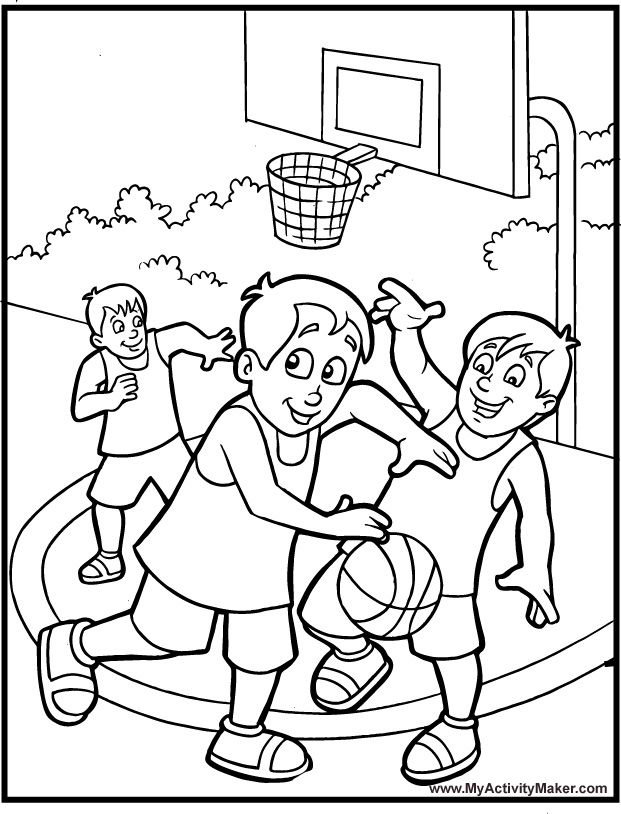 621x814 Awesome Basketball Coloring Pages Printable Pictures Best For Kids