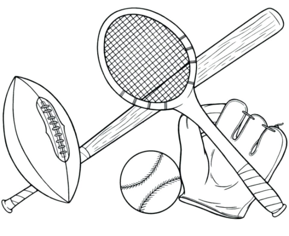 960x783 Sports Coloring Pages Printable Sport Coloring Pages Free
