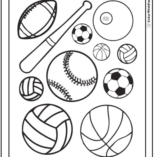 590x600 Sport Coloring Pages Coloring Page