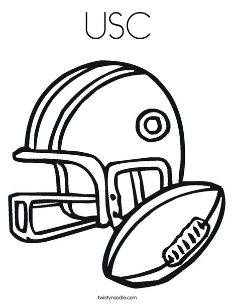 468x605 Usc Coloring Page