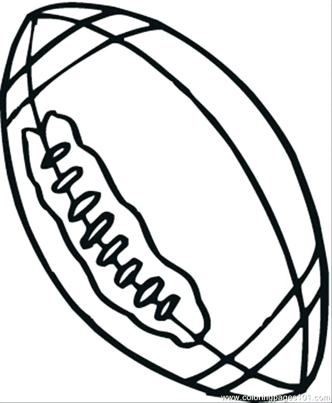 650x789 Sports Equipment Coloring Pages Sports Balls Coloring Pages Easy
