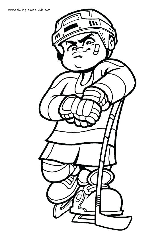 590x833 Coloring Pages Sports Equipment Printable Coloring Coloring Pages