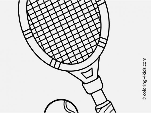 640x480 Coloring Pages Sports Graphic Tennis Sport Coloring Page For Kids