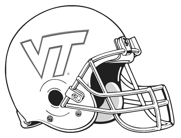 736x564 College Football Logo Coloring Pages Football Helmet Coloring