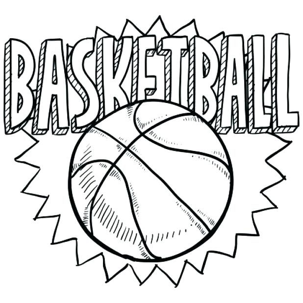 618x618 Coloring Pages Nba Beautiful Basketball Coloring Pages Print Going