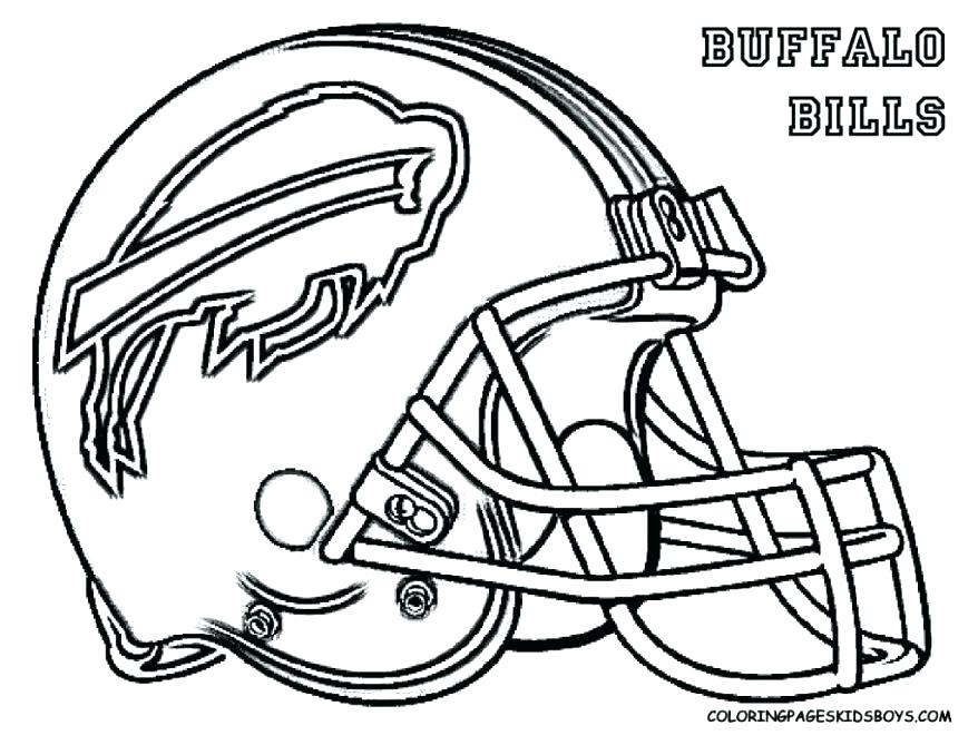 878x678 Free Sports Teams Coloring Pages Team Logo Football Printable