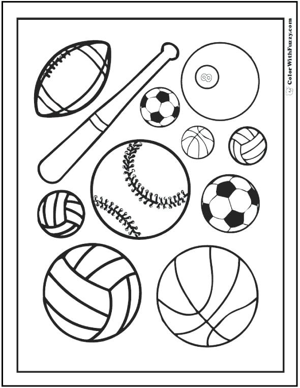 590x762 Sports Coloring Book Sports Coloring Book Coloring Page Outline