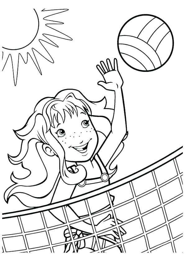 595x842 Sports Coloring Pages Sports Themed Printable Coloring Pages