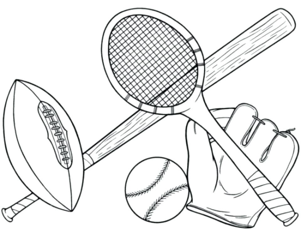 960x783 Sports Themed Coloring Pages Preschool Awesome Basketball