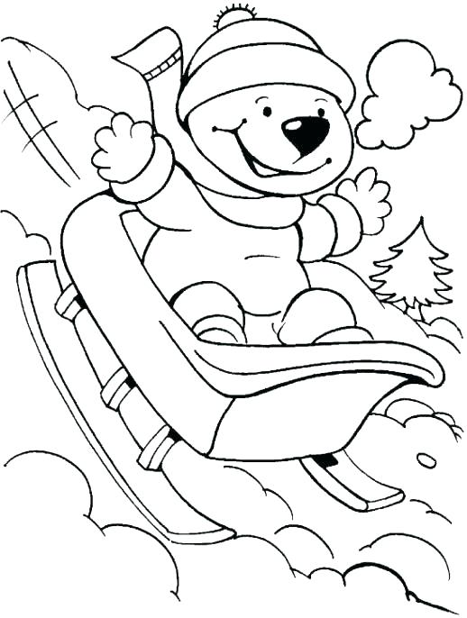 518x686 Coloring Pages Winter Unlock Winter Themed Coloring Pages Free