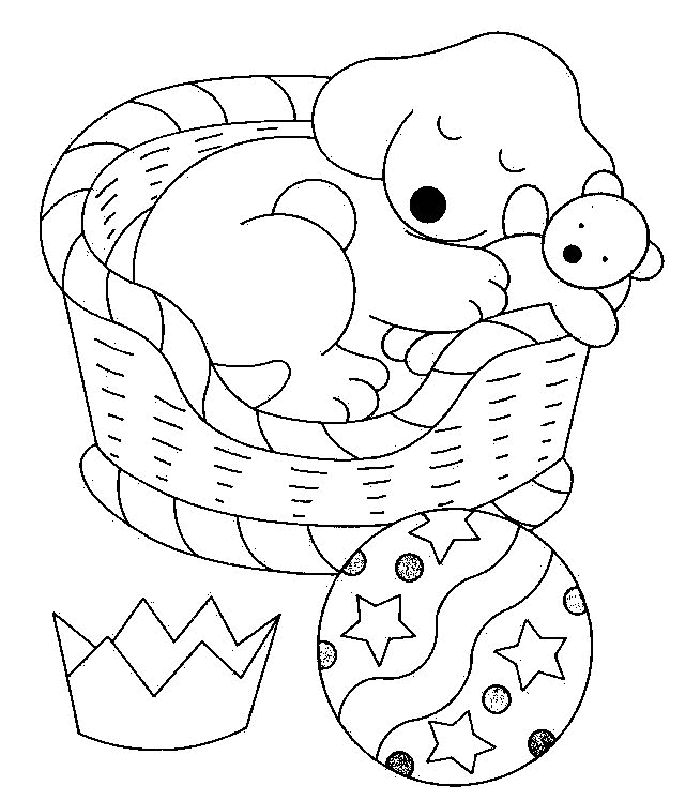 Spot Coloring Pages