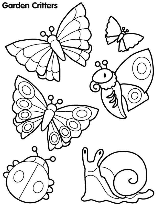Spring Animals Coloring Pages at GetDrawings.com | Free for ...