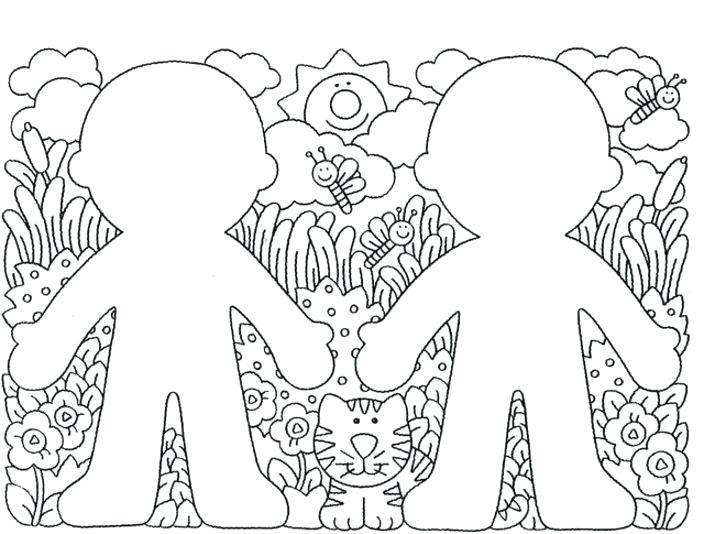 704x534 Spring Animal Coloring Pages Download Spring Baby Animal Coloring