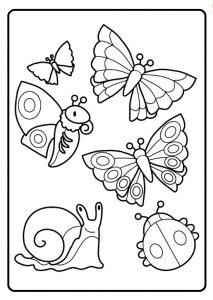 213x300 Spring Theme Coloring Pages For Kids