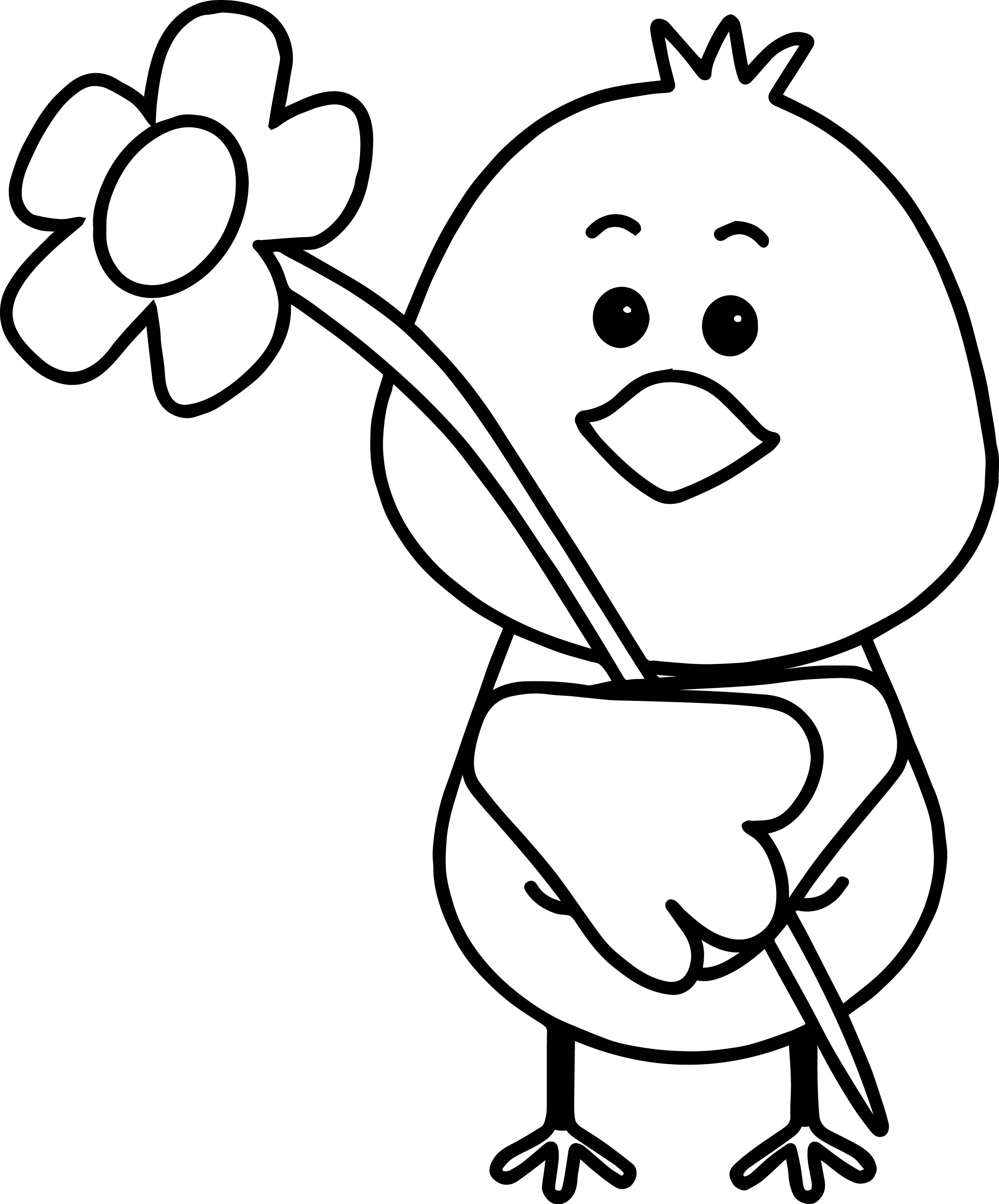 2514x3030 Spring Birds Coloring Pages
