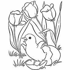 230x230 Top Free Printable Spring Coloring Pages Online
