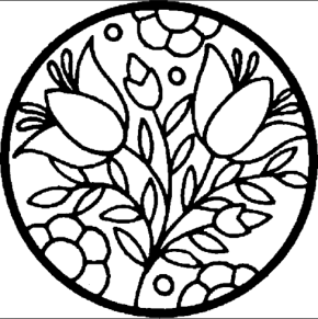 290x291 Spring Spring Chicks Coloring Page, Spring Coloring Page, Spring