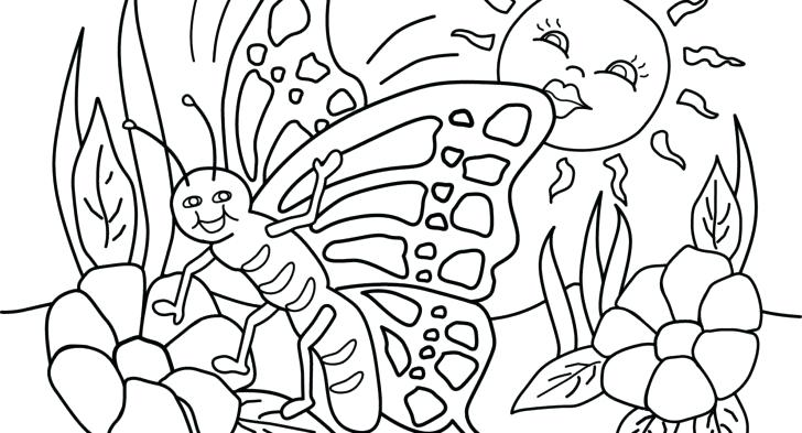 728x393 Spring Break Coloring Pages S Free Spring Break Coloring Sheets