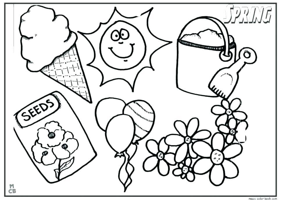 970x689 Spring Break Coloring Sheets Best Quality Printable Spring Break