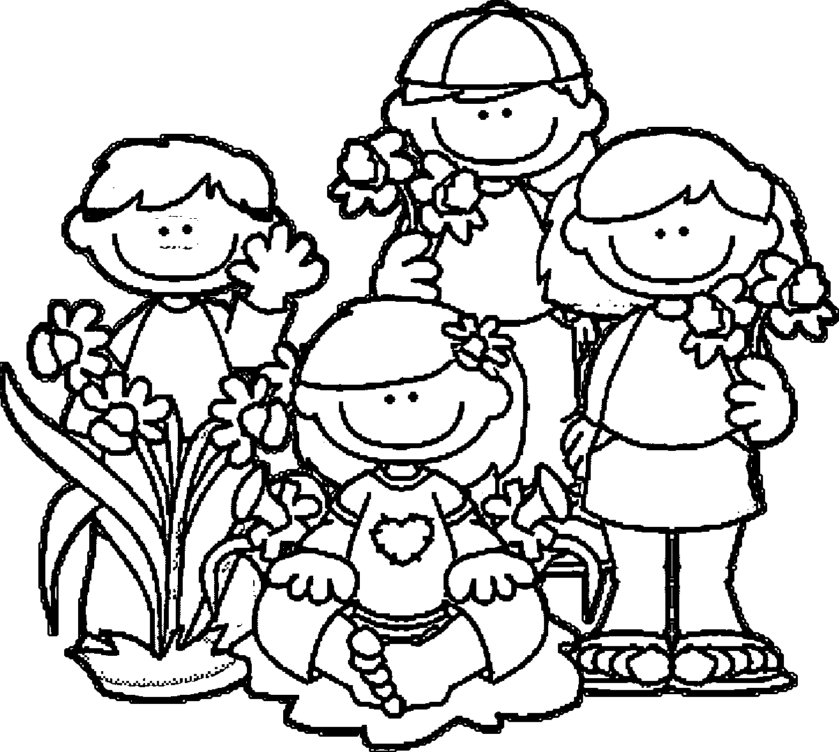 1203x1079 Spring Break Coloring Pages Collections Free Coloring Pages