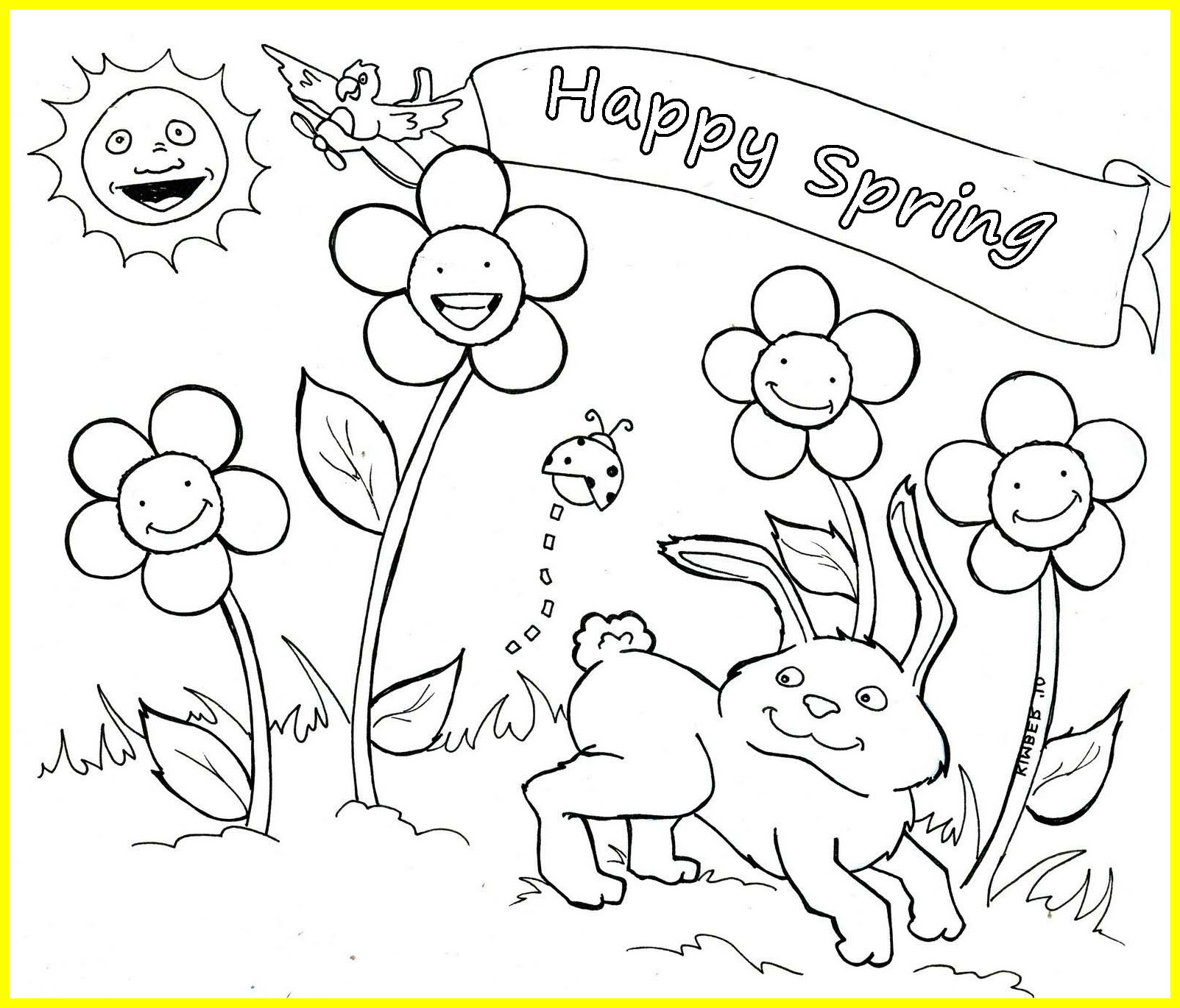 1603x1370 Stunning Spring Break Coloring Sheet Jcmanagement Co Pict Of Scene