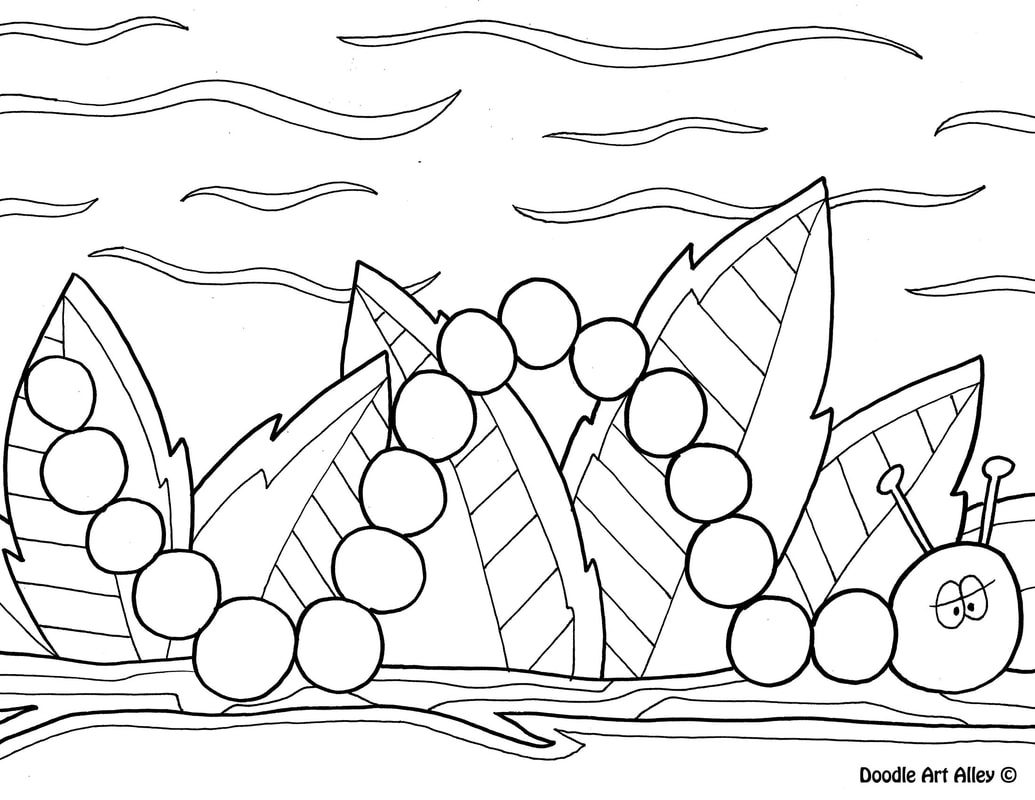1035x800 Spring Coloring Pages Doodle Art Alley Spring Coloring Pages