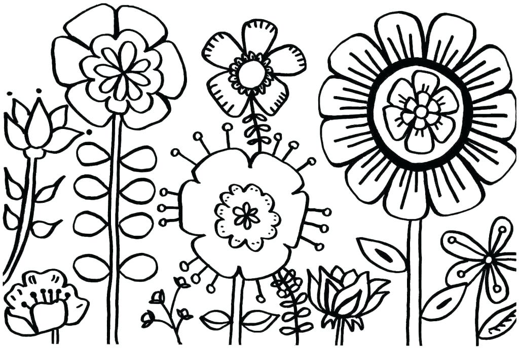 1024x690 Springtime Coloring Pages For Toddlers Spring The Will Love This