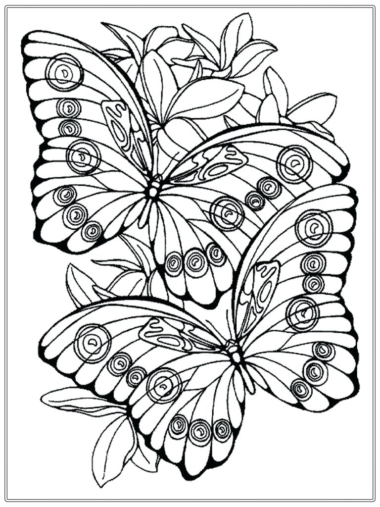 768x1024 Coloring Spring Pages For Adults New