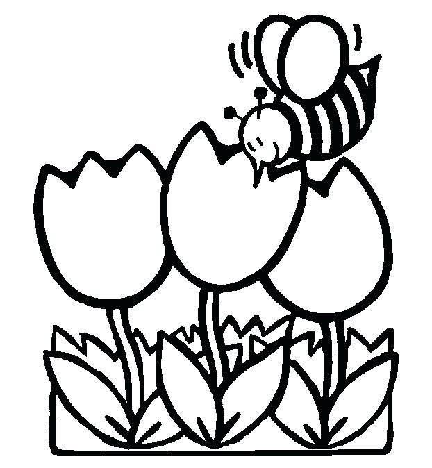 622x674 Spring Coloring Sheets First Grade Colouring Pictures