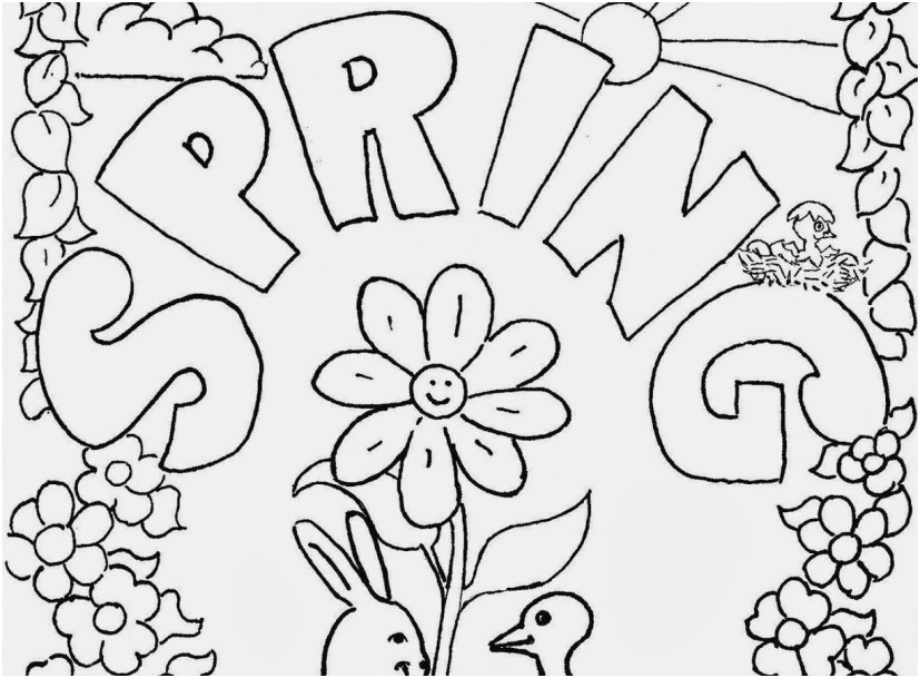 827x609 Grade Coloring Pages Pictures Spring Coloring Sheets For First